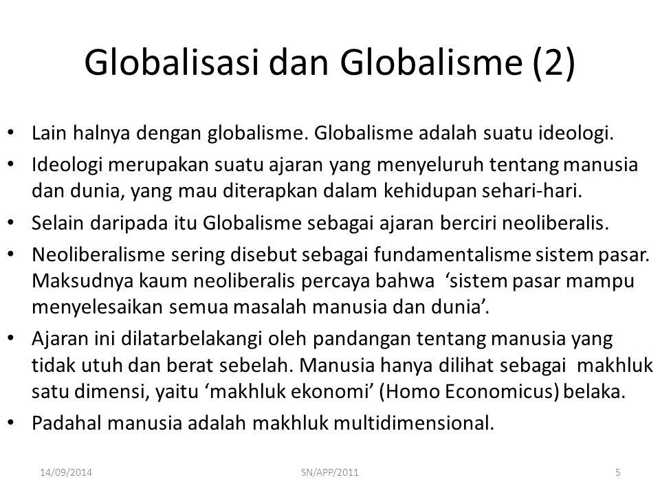 Globalisasi dan Globalisme (2)
