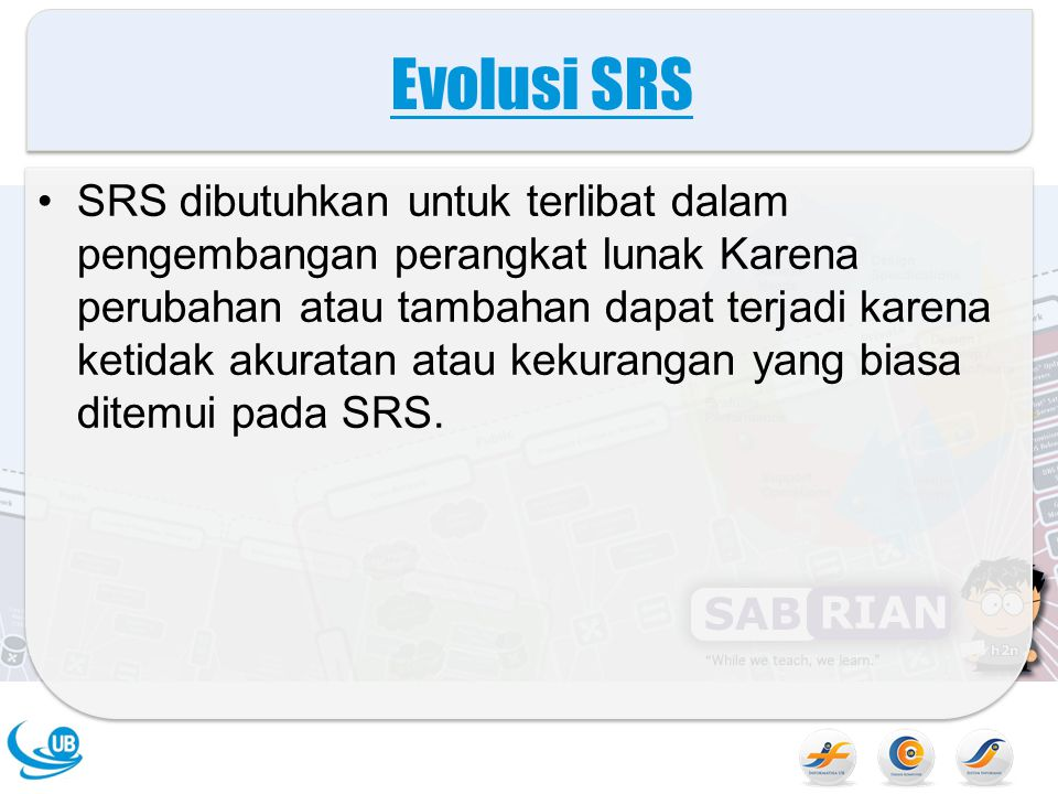Evolusi SRS