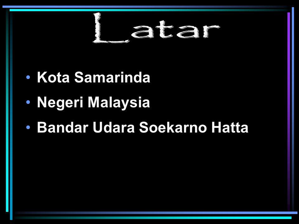 Latar Kota Samarinda Negeri Malaysia Bandar Udara Soekarno Hatta