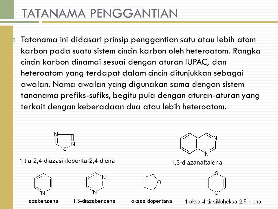 TATANAMA PENGGANTIAN
