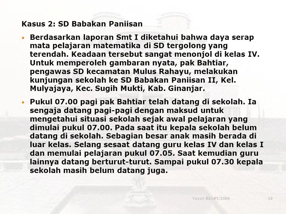 Kasus 2: SD Babakan Paniisan