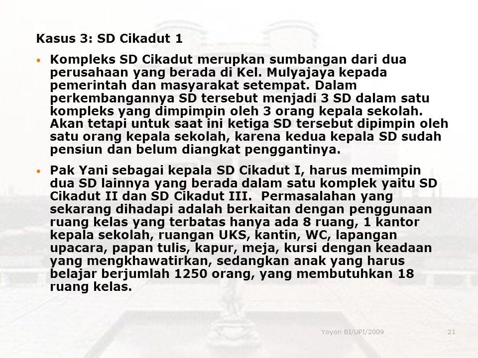 Kasus 3: SD Cikadut 1