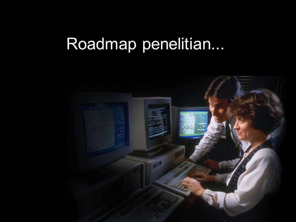 Roadmap penelitian...