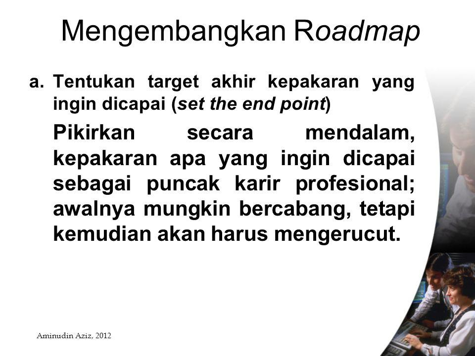 3. Mengembangkan Roadmap