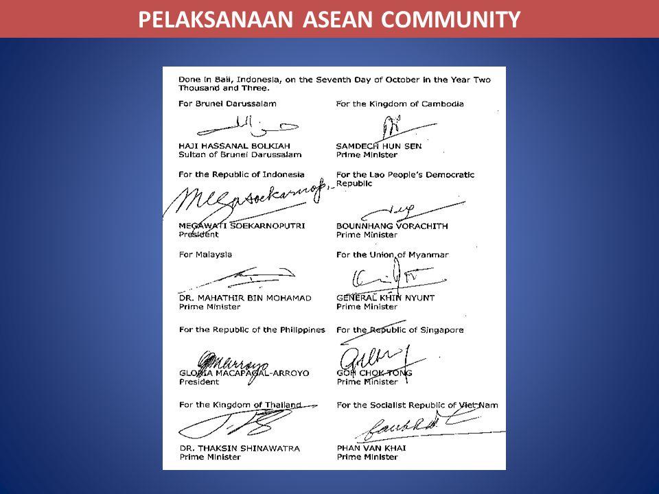 PELAKSANAAN ASEAN COMMUNITY