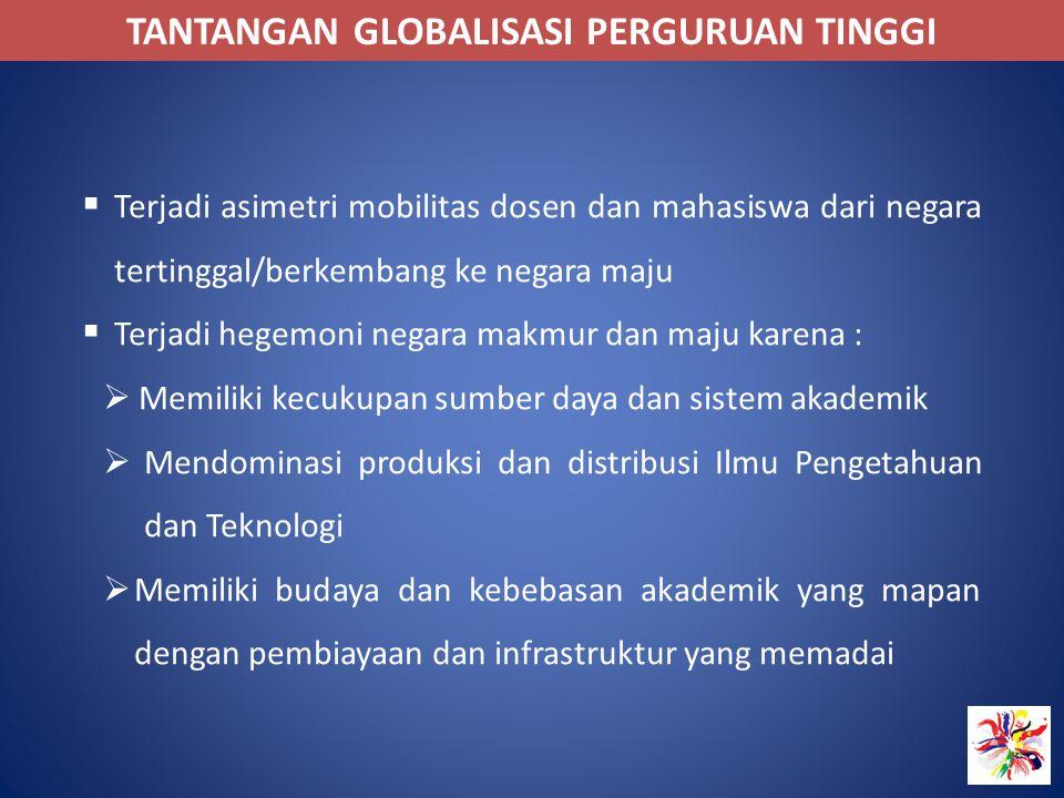 TANTANGAN GLOBALISASI PERGURUAN TINGGI