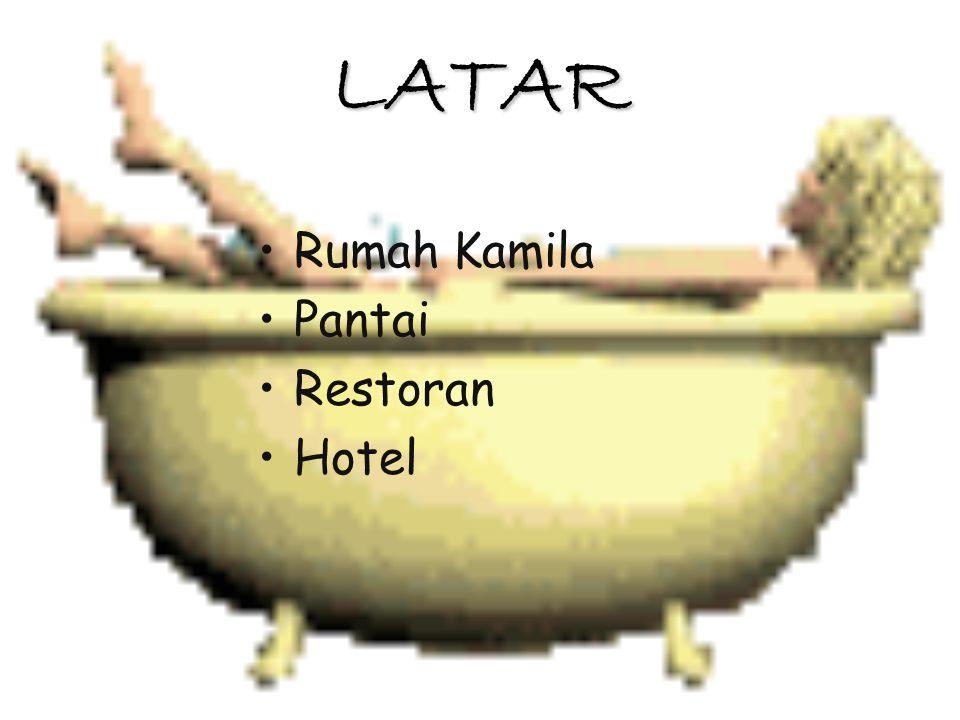 LATAR Rumah Kamila Pantai Restoran Hotel