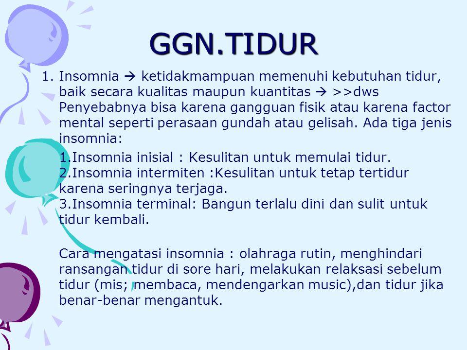 GGN.TIDUR