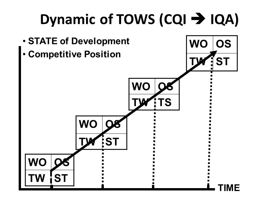 Dynamic of TOWS (CQI  IQA)