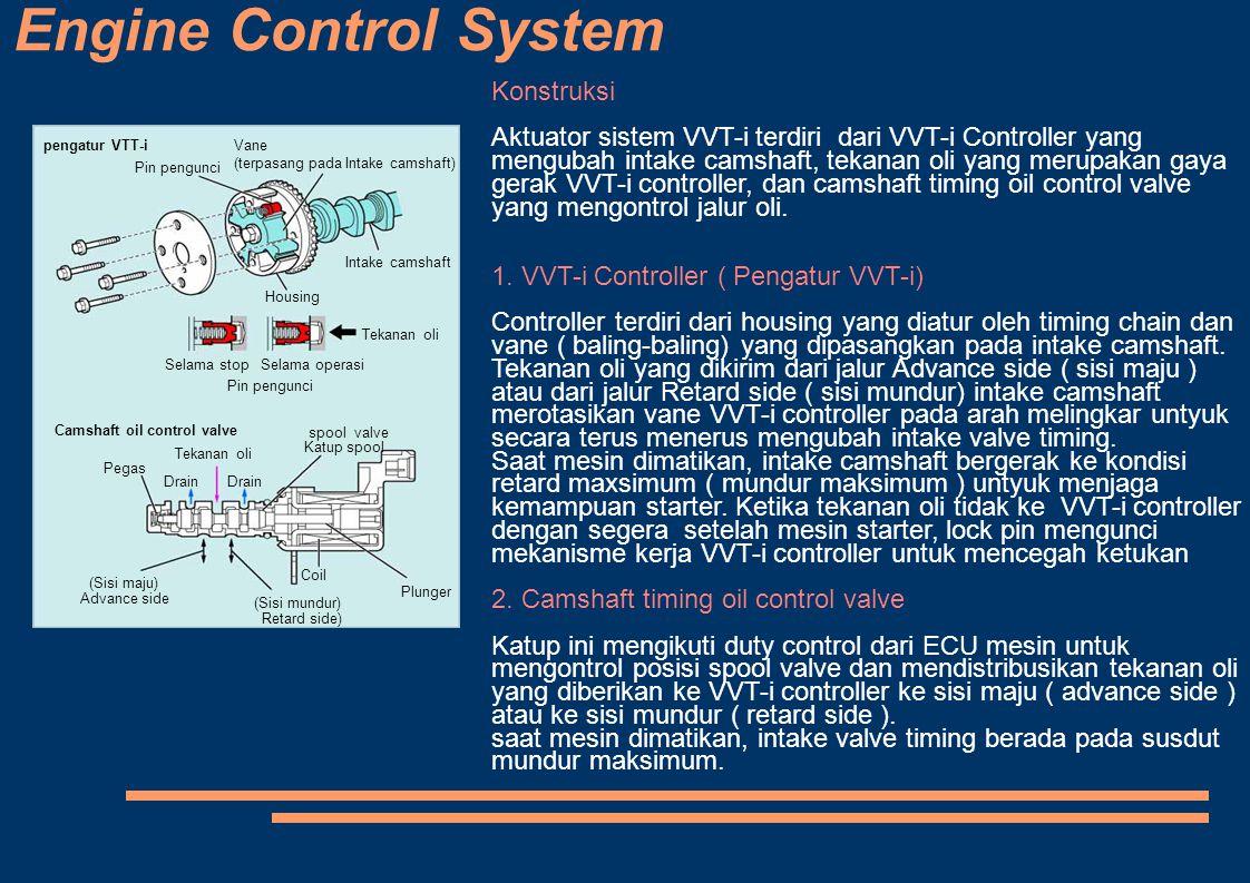 Engine Control System Konstruksi
