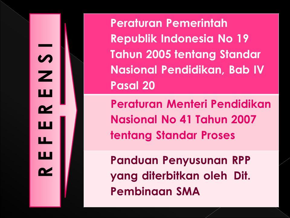 Peraturan Pemerintah Republik Indonesia No 19 Tahun 2005 tentang Standar Nasional Pendidikan, Bab IV Pasal 20