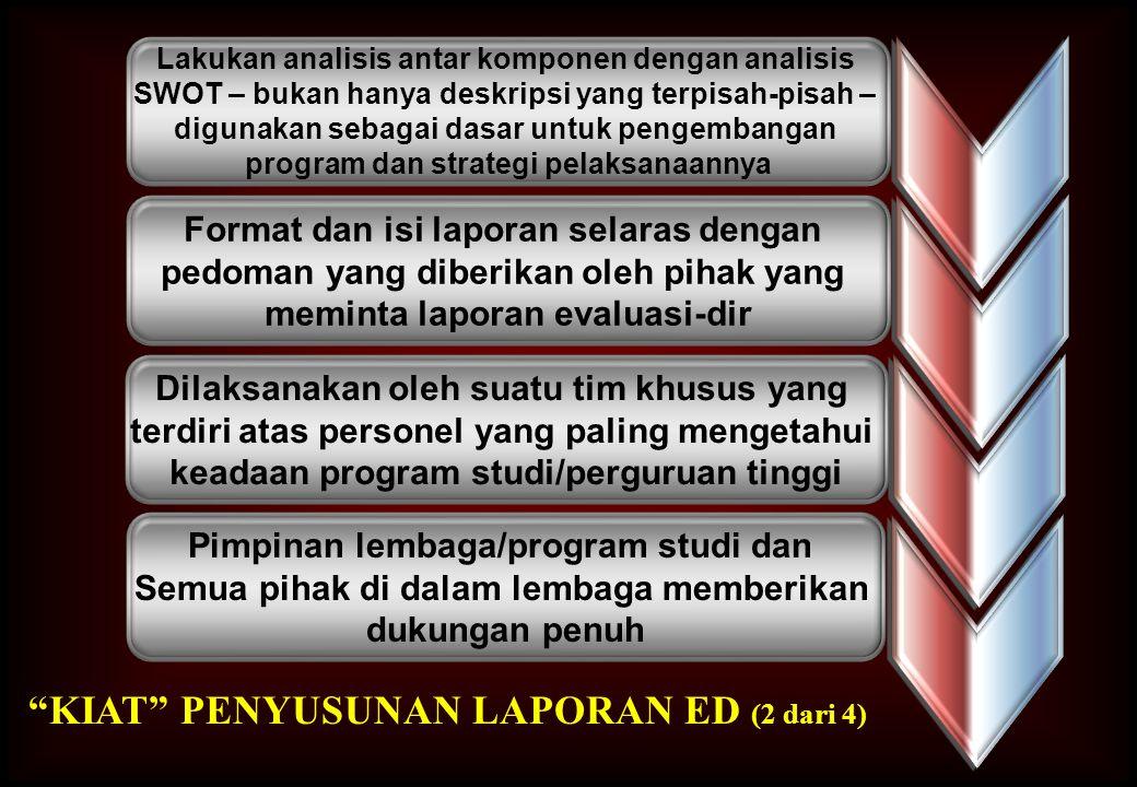 KIAT PENYUSUNAN LAPORAN ED (2 dari 4)