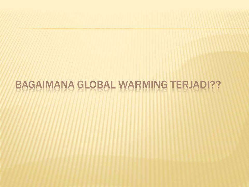Bagaimana Global warming terjadi