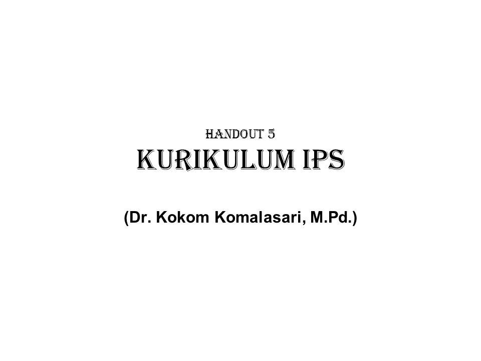 (Dr. Kokom Komalasari, M.Pd.)