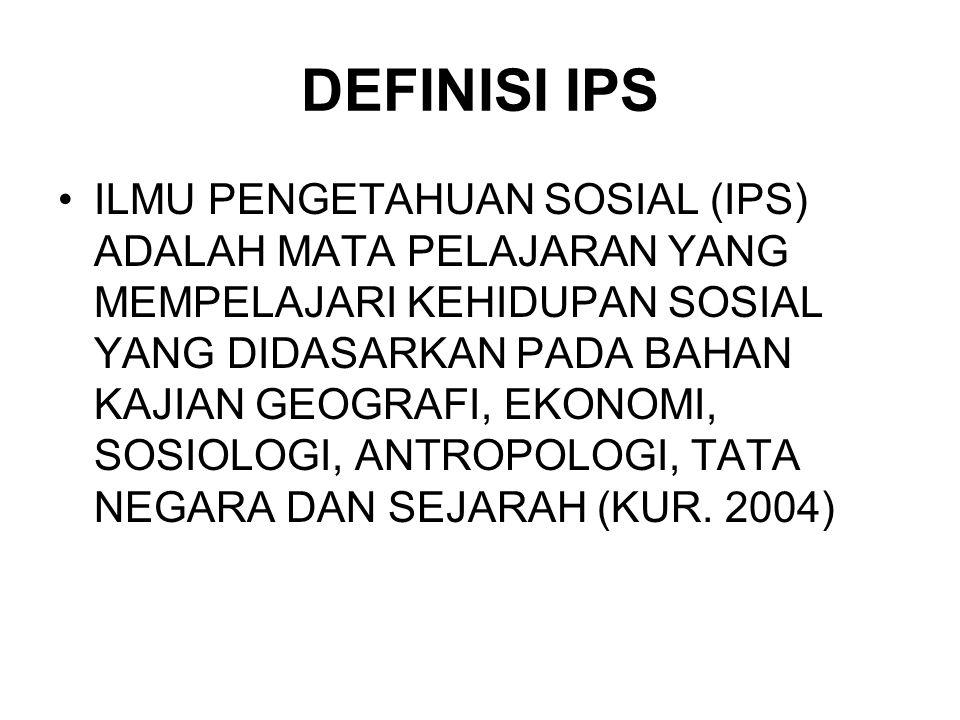 DEFINISI IPS