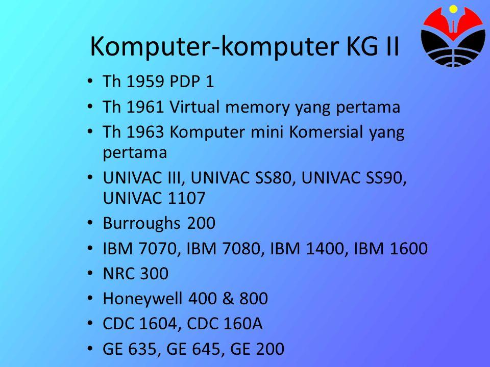 Komputer-komputer KG II