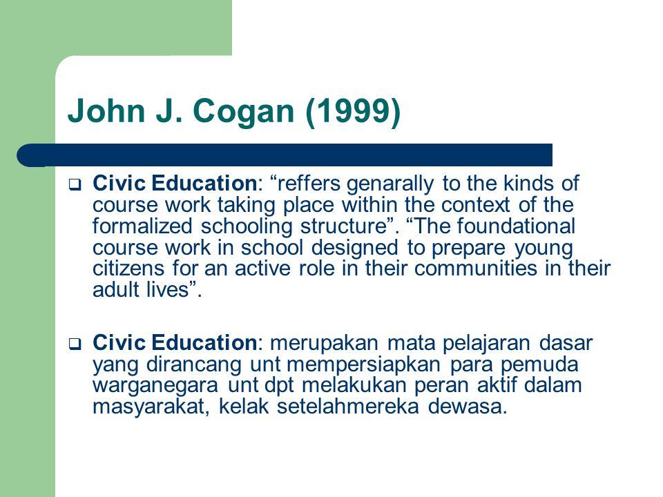 John J. Cogan (1999)
