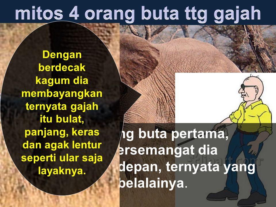 mitos 4 orang buta ttg gajah