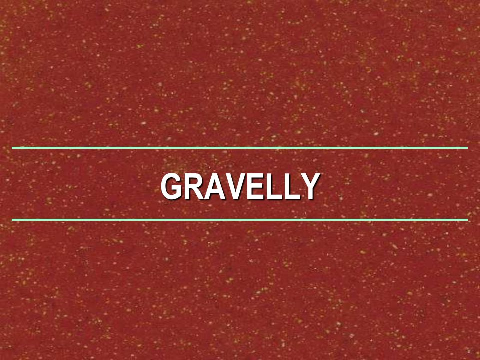 GRAVELLY