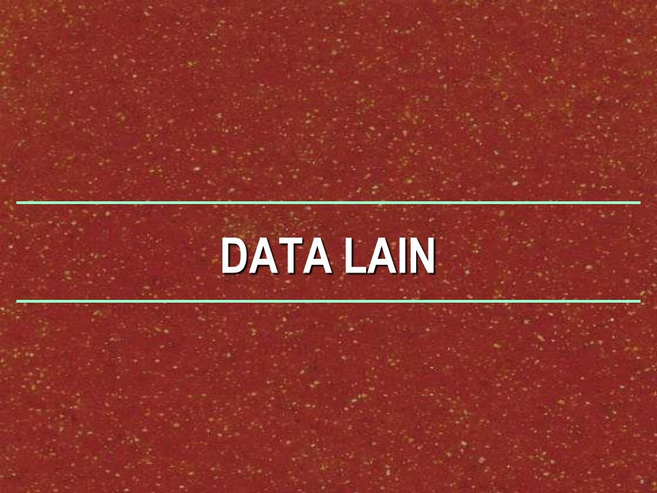 DATA LAIN