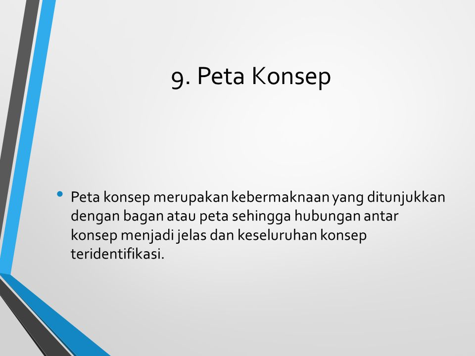 9. Peta Konsep