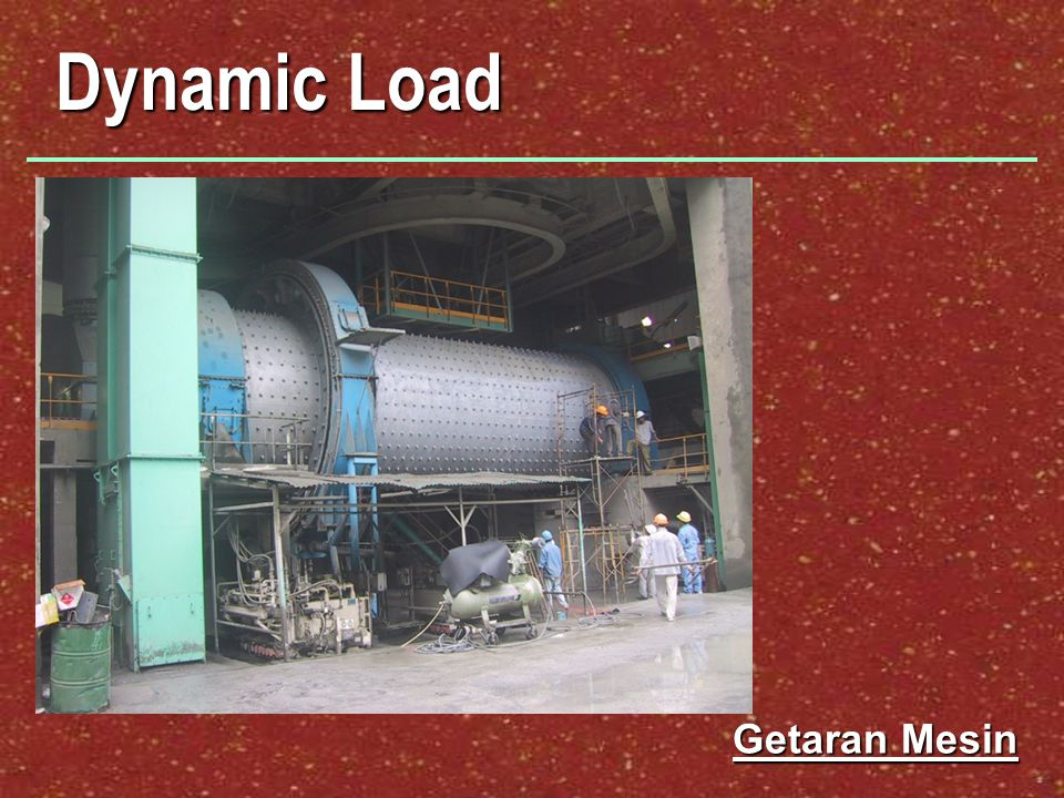 Dynamic Load Getaran Mesin