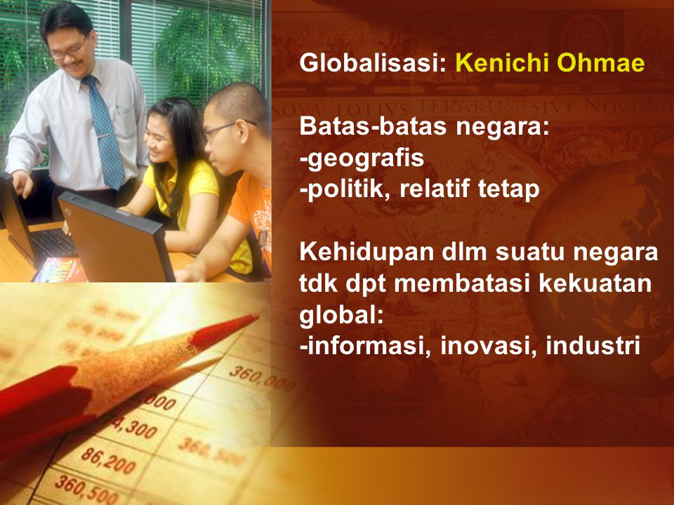 Globalisasi: Kenichi Ohmae