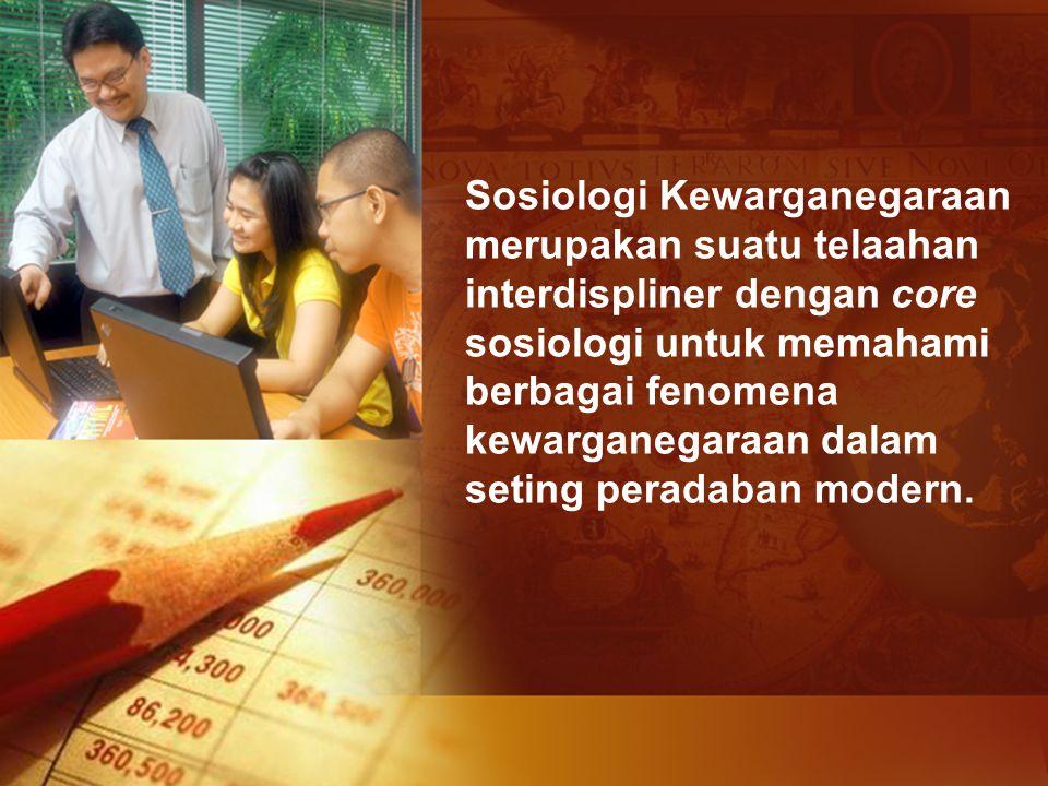 Sosiologi Kewarganegaraan