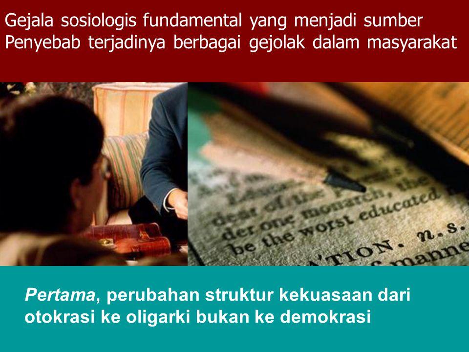 Gejala sosiologis fundamental yang menjadi sumber