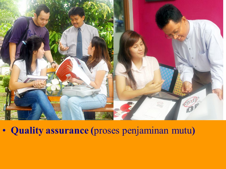 Quality assurance (proses penjaminan mutu)