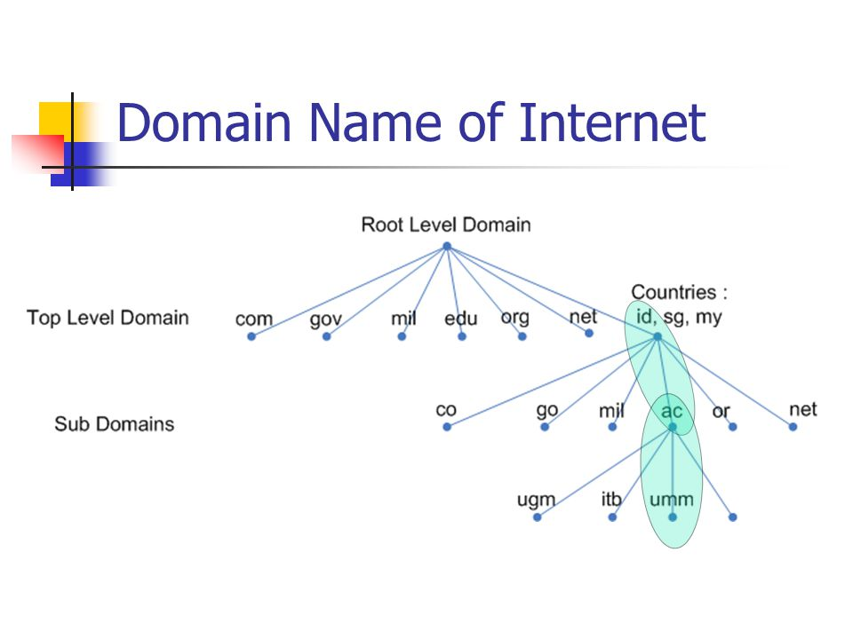 Domain Name of Internet