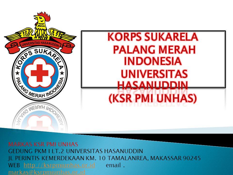 PALANG MERAH INDONESIA UNIVERSITAS HASANUDDIN