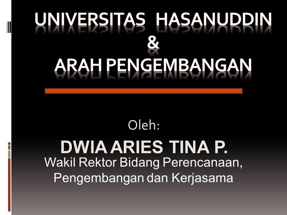 UNIVERSITAS HASANUDDIN & ARAH PENGEMBANGAN