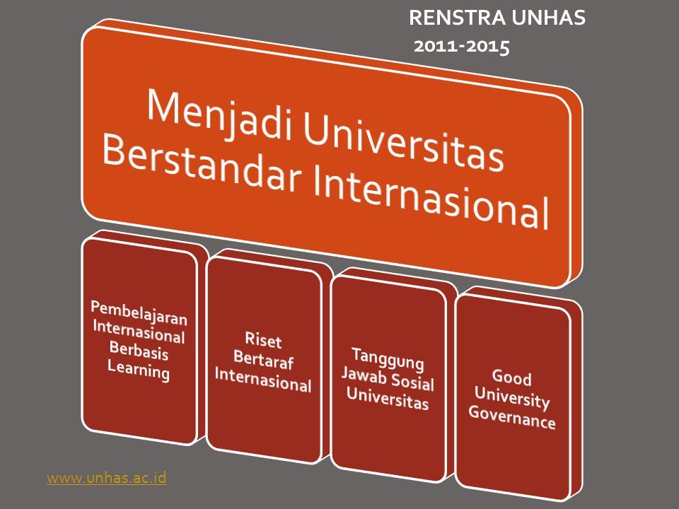 RENSTRA UNHAS 2011-2015 Pembelajaran Internasional Berbasis Learning