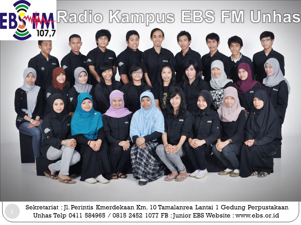 Radio Kampus EBS FM Unhas