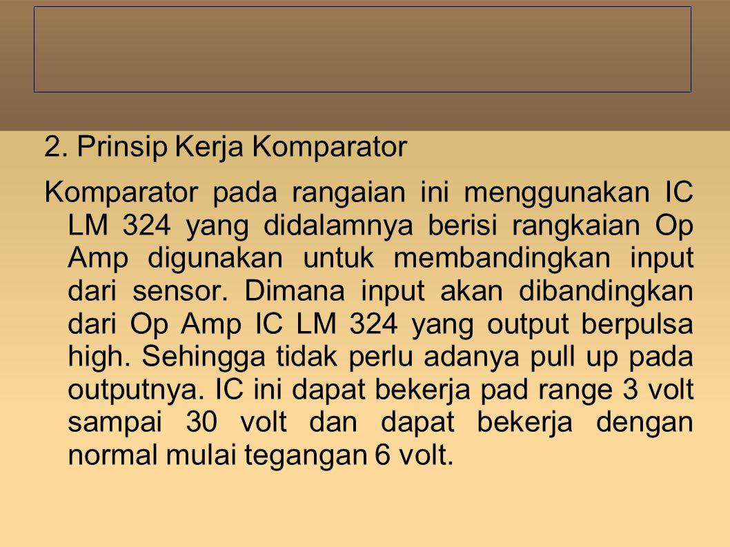 2. Prinsip Kerja Komparator