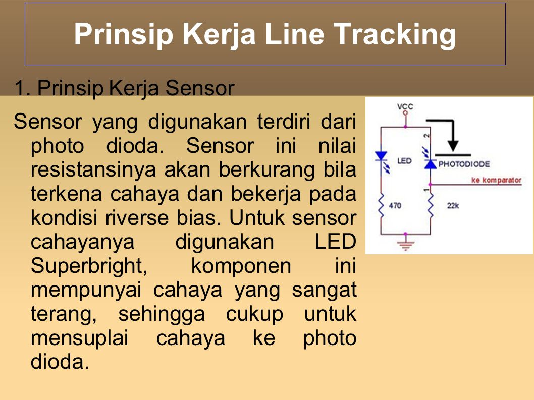 Prinsip Kerja Line Tracking