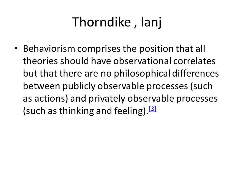 Thorndike , lanj