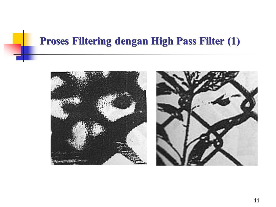 Proses Filtering dengan High Pass Filter (1)