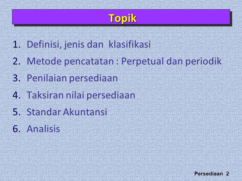 Topik Definisi, jenis dan klasifikasi