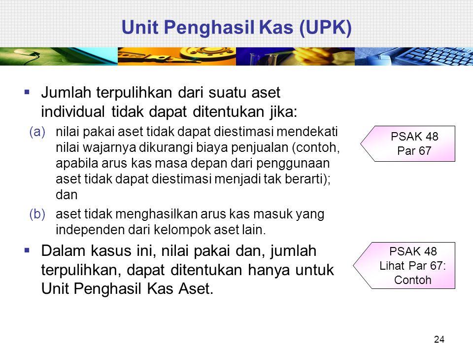 Unit Penghasil Kas (UPK)