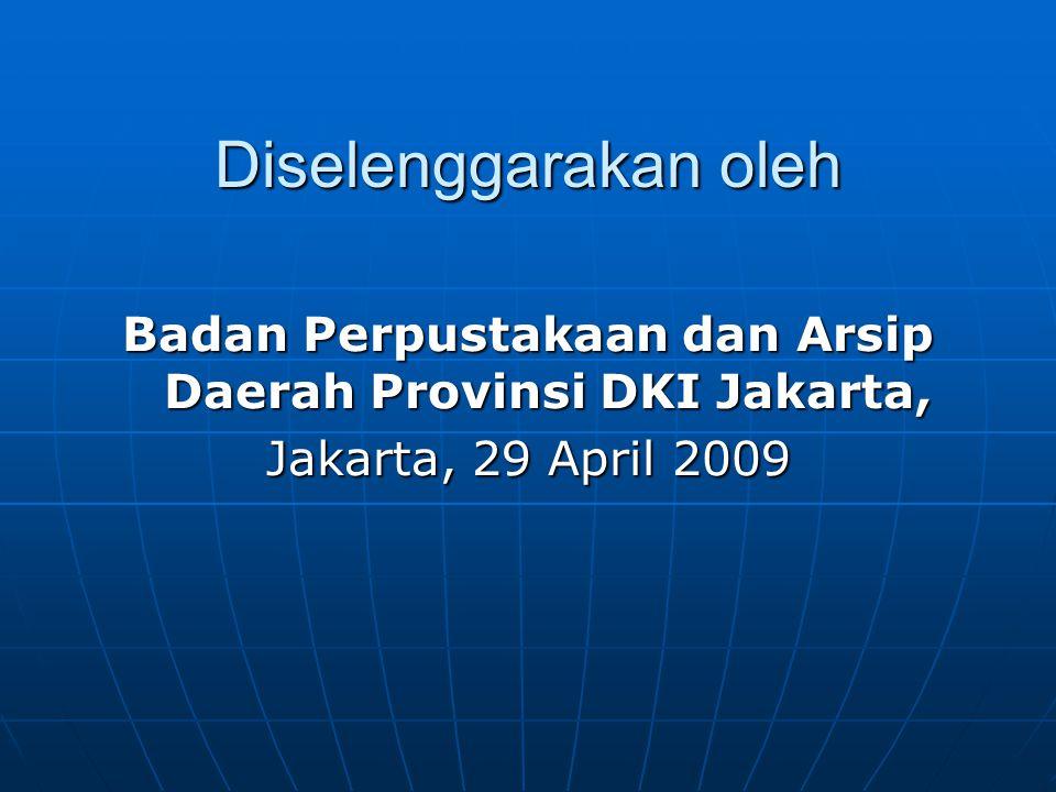 Badan Perpustakaan dan Arsip Daerah Provinsi DKI Jakarta,