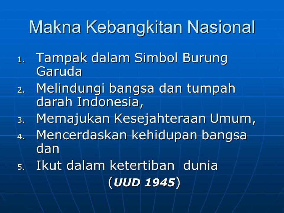 Makna Kebangkitan Nasional