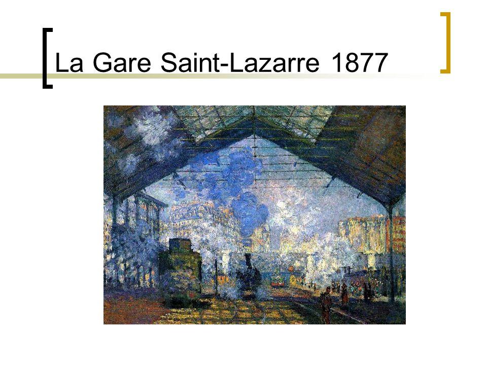 La Gare Saint-Lazarre 1877
