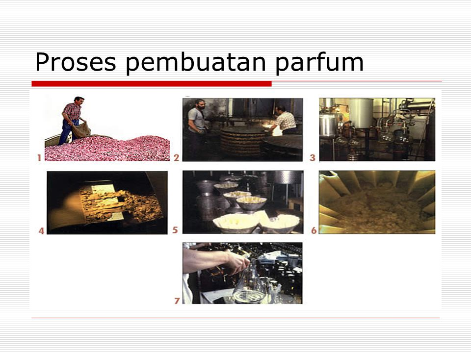Proses pembuatan parfum