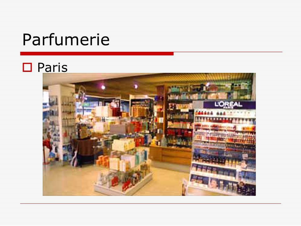 Parfumerie Paris