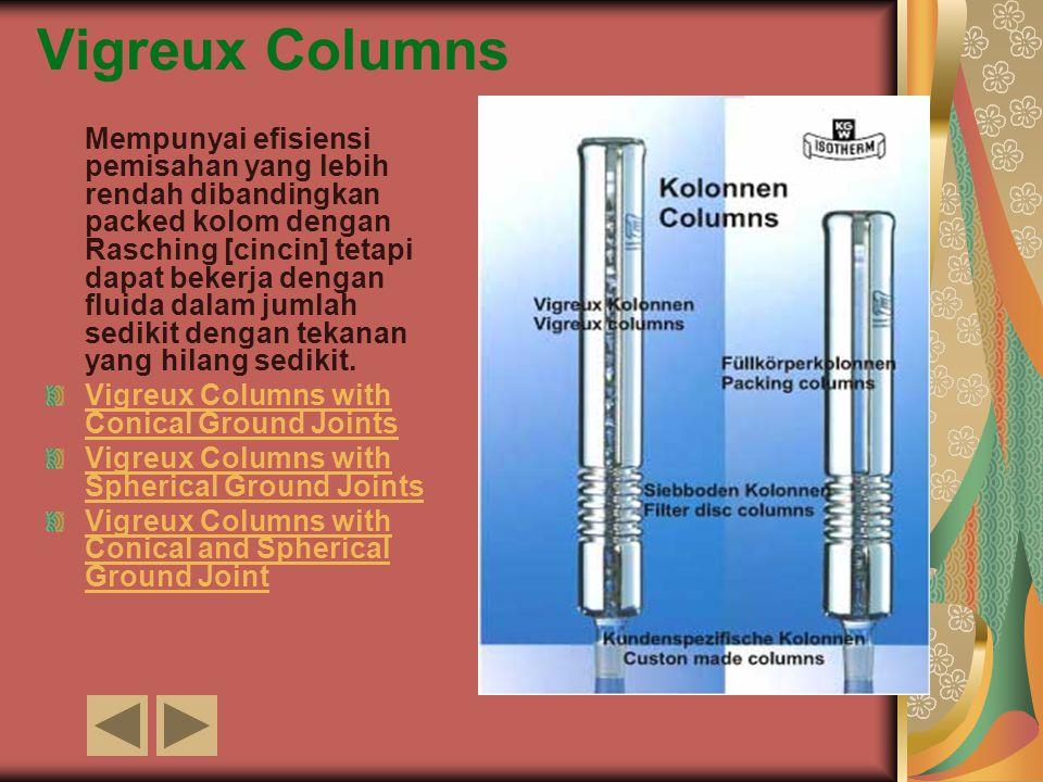 Vigreux Columns