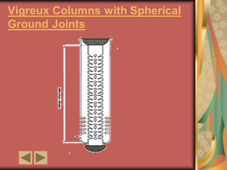 Vigreux Columns with Spherical Ground Joints