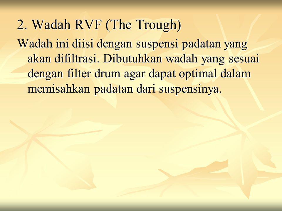 2. Wadah RVF (The Trough)