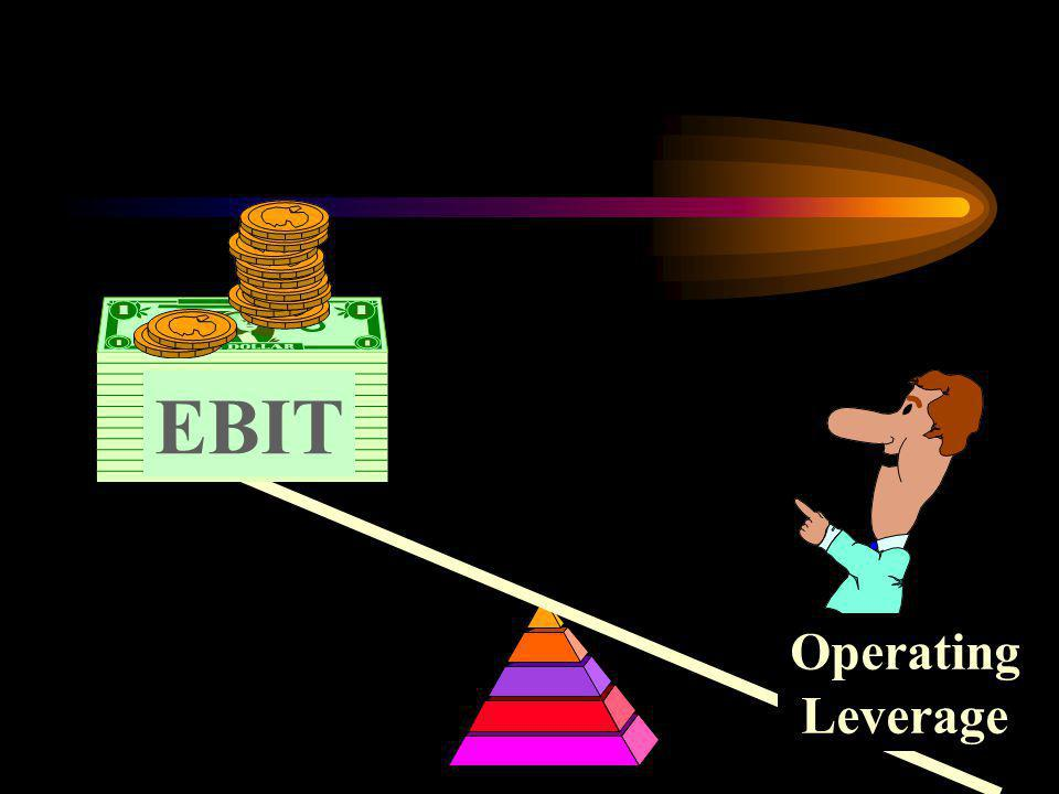 EBIT Operating Leverage